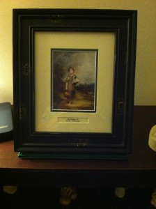 The Cottage Girl Thomas Gainsborough Print Donated by Penny Stollery Purchased in Ireland trip Item # CMN Value: $50.00